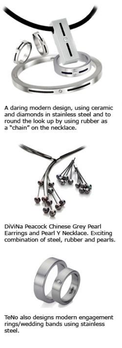 TeNo's Stainless Steel Jewelry