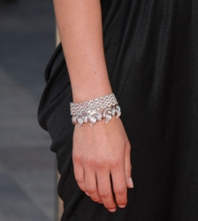Claire Danes in Platinum & Diamonds