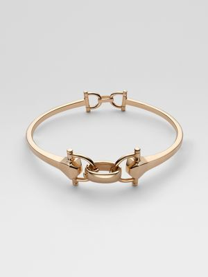 gold Gucci bracelet