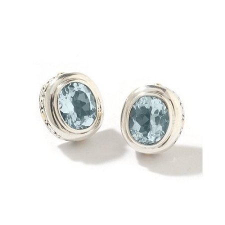 topaz gemstone earrings