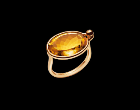 designer gemstone ring