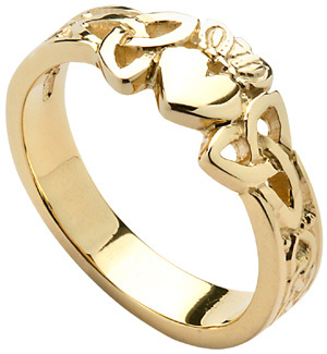 designer gold ring