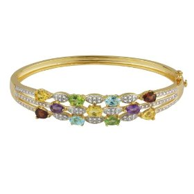 gemstone bangle