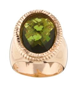 designer rose gold ring