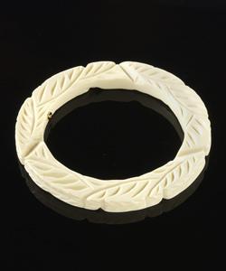 carved bangle bracelet