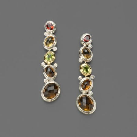 fine jewelry gemstone earrings