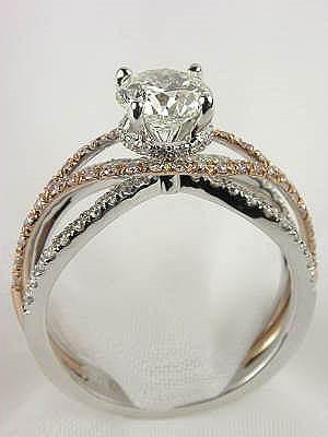 designer cubic zirconia ring