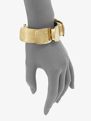 green gold bracelet