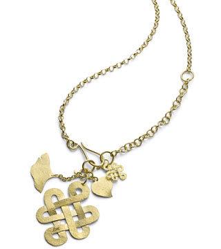 gold H. Stern pendant
