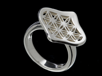 silver handcrafted ring