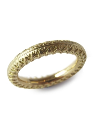 gold designer ring