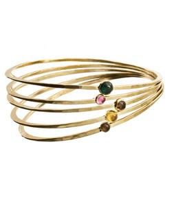 gold vermeil gemstone bracelets