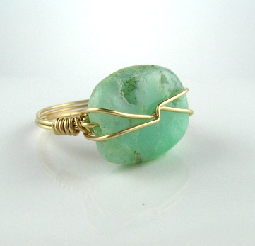 gemstone designer ring